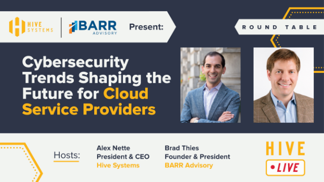 Round Table: Cybersecurity Trends Shaping the Future for Cloud Service Providers