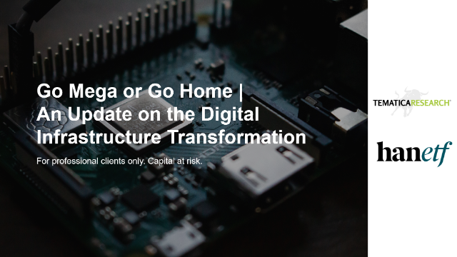 Go Mega or Go Home | An Update on the Digital Infrastructure Transformation