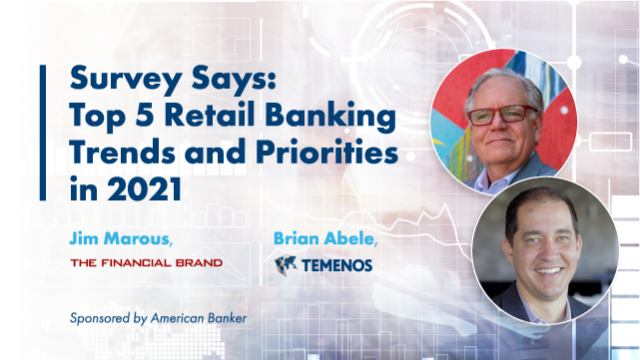 Top 5 Retail Banking Trends and Priorities in 2021