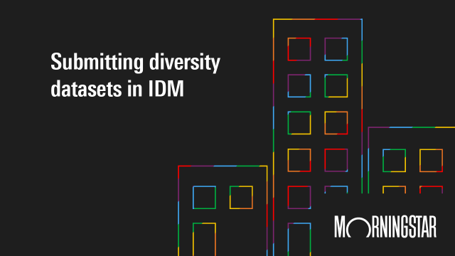 Submitting Diversity Datasets in IDM