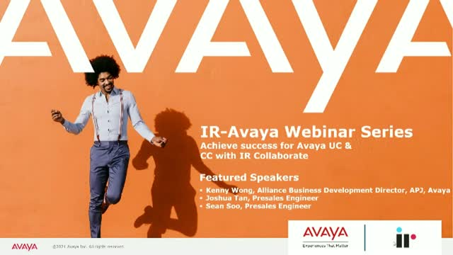 Achieve success for Avaya UC &  CC with IR Collaborate - Be Empowered