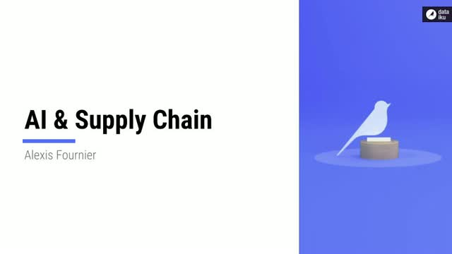 AI at the service of Supply Chain