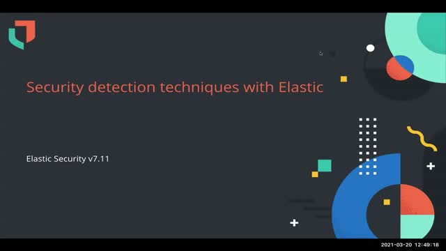 Security detection techniques with Elastic