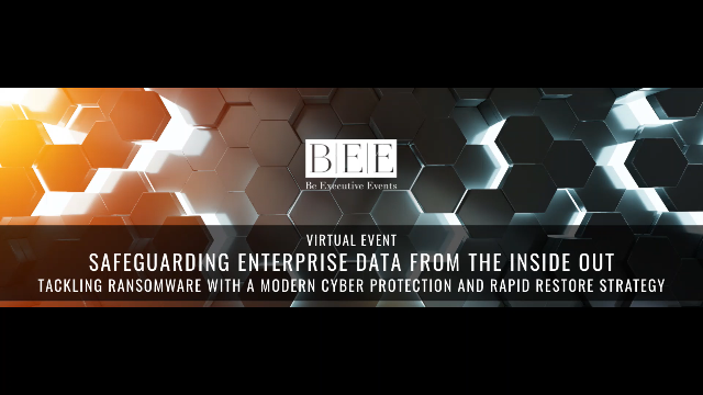 Safeguarding Enterprise Data from the inside out