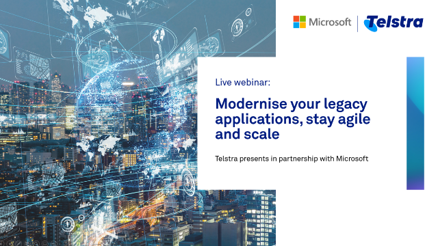 Modernise your legacy applications, stay agile and scale.
