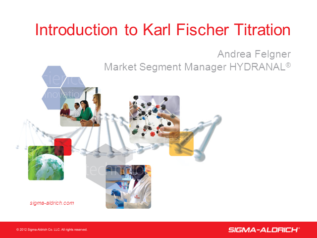 Introduction to Karl Fischer Titration