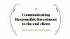 BNY Mellon - Communicating Responsible Investing to the end client