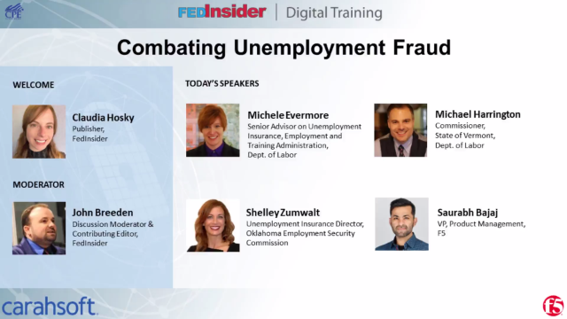 Combating Unemployment Fraud