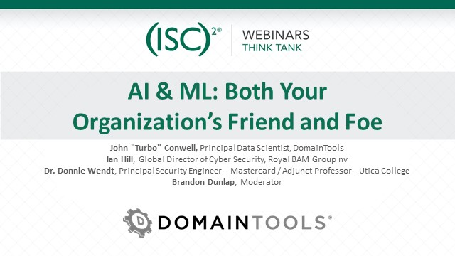 AI & ML: Both Your Organization's Friend and Foe