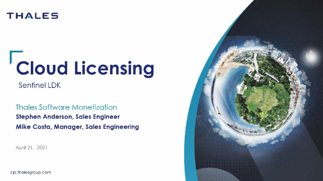 Start Your Journey To Cloud Licensing with Sentinel LDK