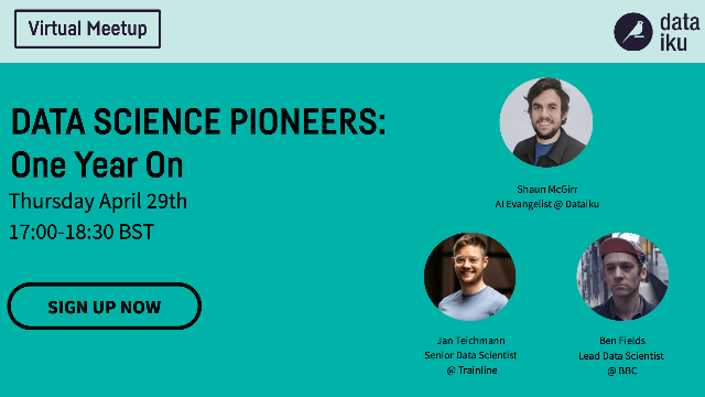 Data Science Pioneers: One Year On