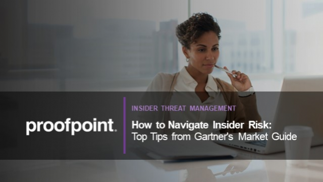 How to Navigate Insider Risk: Top Tips from Gartner's Market Guide
