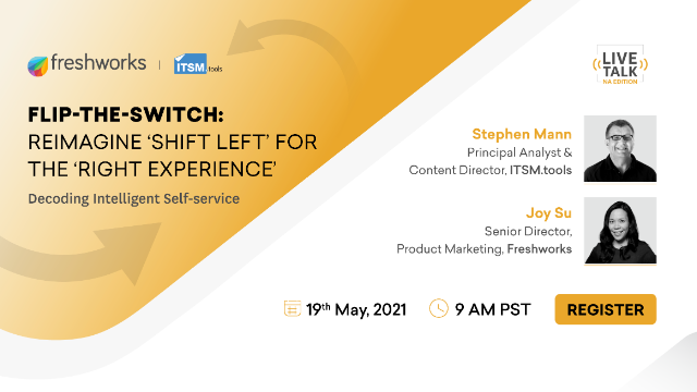 FLIP-THE-SWITCH: Reimagine 'shift left' for the 'right experience'
