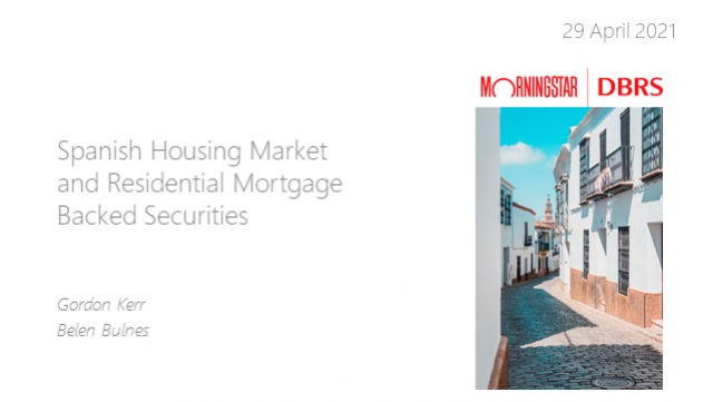Webinar: Spanish Housing Market and Residential Mortgage-Backed Securities