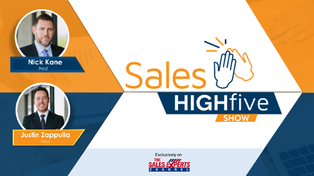 Sales High Five - Ep 5: Practical Tips for Designing or Updating Sales Comp Plan