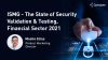The State of Security Validation & Testing, Financial Sector 2021