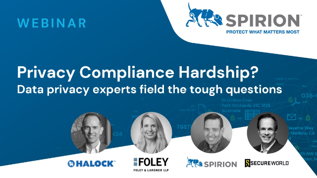 Privacy Compliance Hardship? Data privacy experts field the tough questions