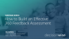 How to Build an Effective 360 Feedback Assessment