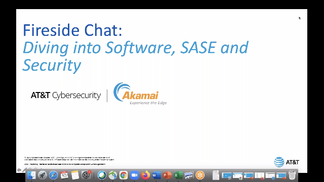 Fireside Chat: Diving into Software, SASE and Security