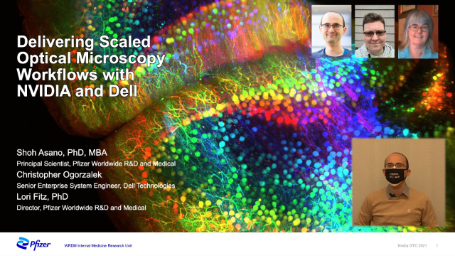 Delivering Scaled Optical Microscopy Workflows with NVIDIA and Dell Technologies