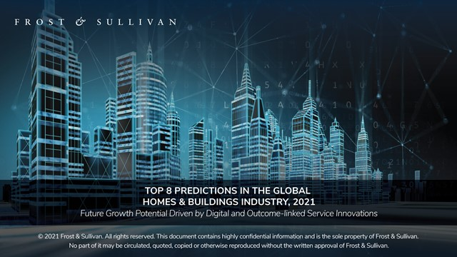 Top 8 Predictions in the Global Homes & Buildings Industry, 2021