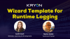 Wizard Template for Runtime Logging