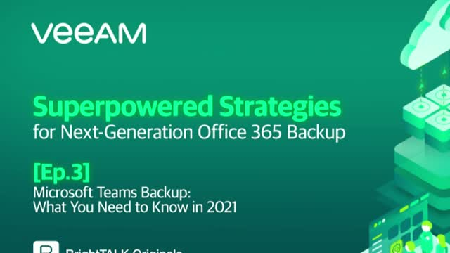 [Ep.3] Microsoft Teams Backup: What You Need to Know in 2021