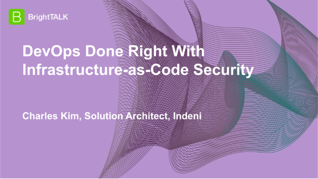 DevOps Done Right With Infrastructure-as-Code Security