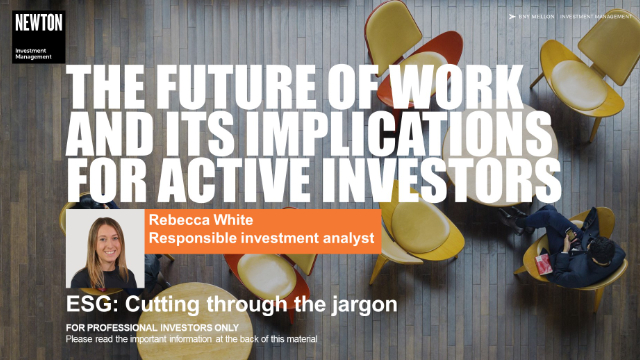 Virtual training - The future of work and its implications for active investors
