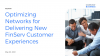 Optimizing Networks for Delivering New FinServ Customer Experiences