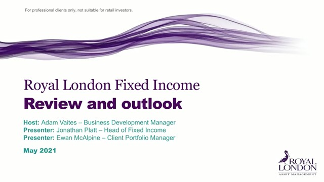 Fixed Income quarterly update May 2021
