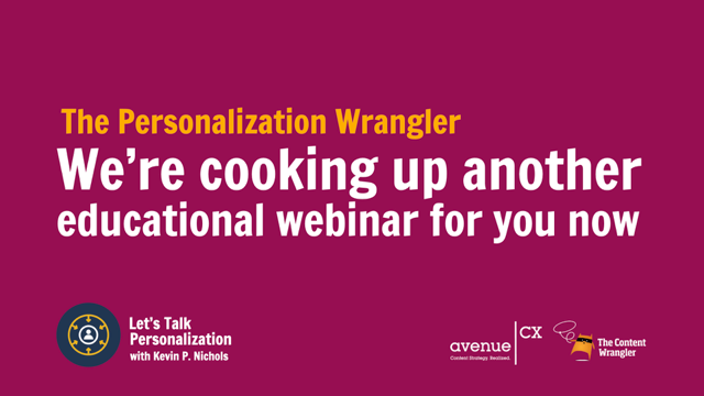 Let's Talk Personalization — Foundations of Personalization
