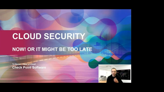 Cloud Security - It's Now or Too Late!