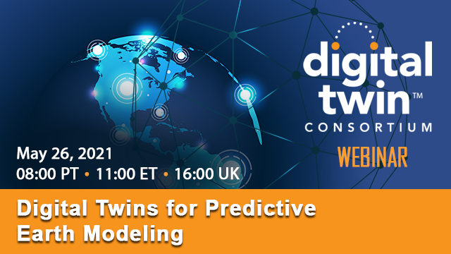 Digital Twins for Predictive Earth Modeling