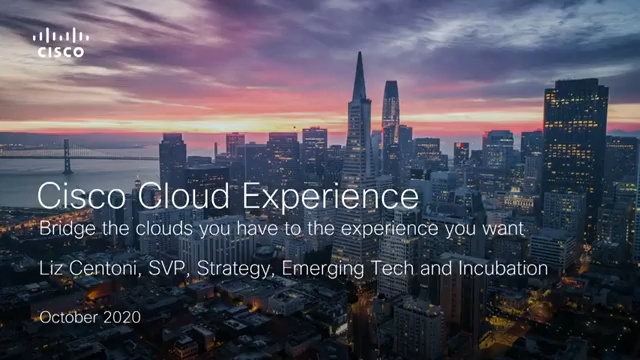 Cisco - Helping Our Customers Harness the Power of Cloud