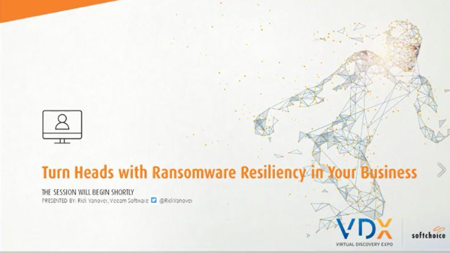 Turn Heads with Ransomware Resiliency in Your Business