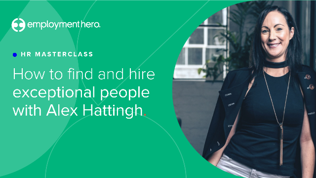 HR Masterclass: How to Find and Hire Exceptional People