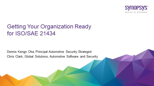 Getting your Organization ready for ISO/SAE 21434