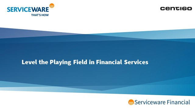 Digital Disruption in Finance P2: Level the Playing Field in Financial Services