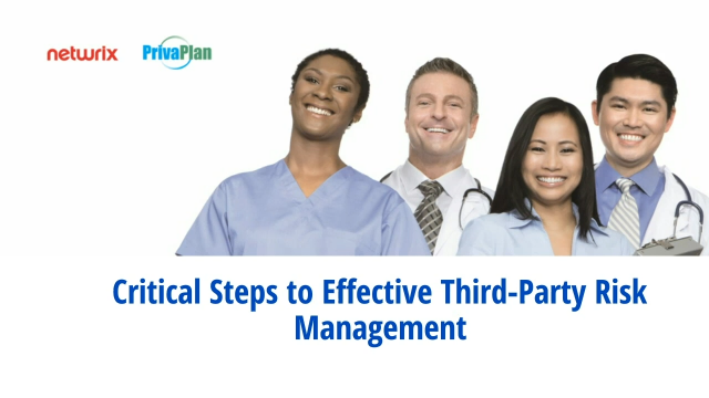 Critical Steps to Effective Third-Party Risk Management