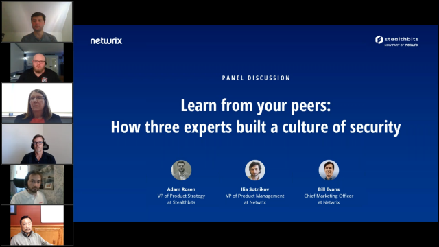 [Panel] Learn from Your Peers: How Three Experts Built a Culture of Security
