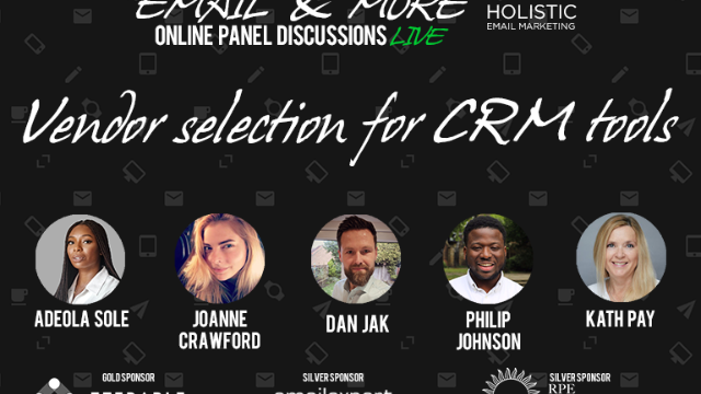 Email & More: Vendor Selection for CRM Tools
