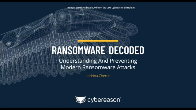 Ransomware Decoded