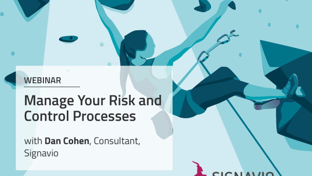 Manage Your Risk and Control Processes