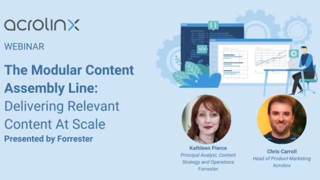 The Modular Content Assembly Line: Delivering Relevant Content At Scale