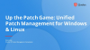 Up the Patch Game: Unified Patch Management for Windows & Linux