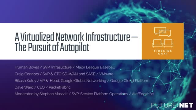 A Virtualized Network Infrastructure — The Pursuit of Autopilot