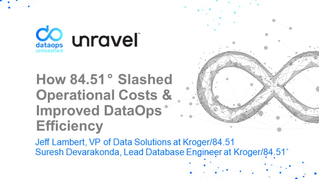 DataOps Unleashed - How 84.51 Slashed Costs & Improved DataOps Efficiency