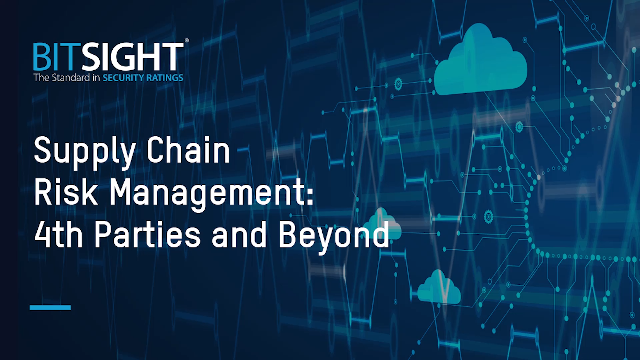 Supply Chain Risk Management: 4th Parties and Beyond