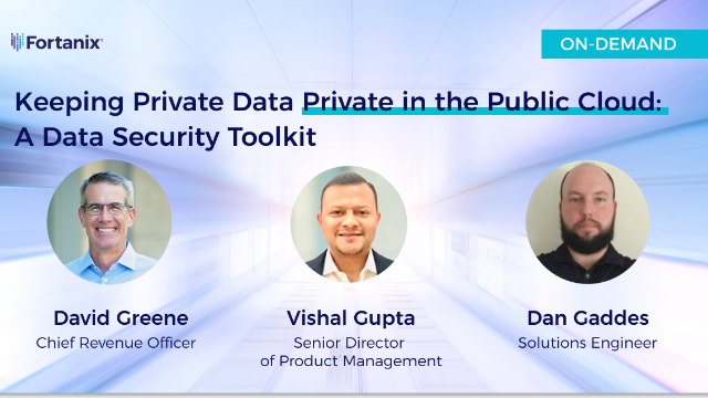 Keeping Private Data Private in the Public Cloud:  A Data Security Toolkit